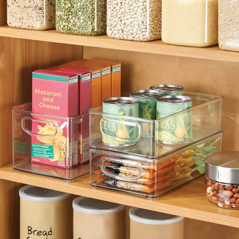 How to organize a pantry - pantry organization bins