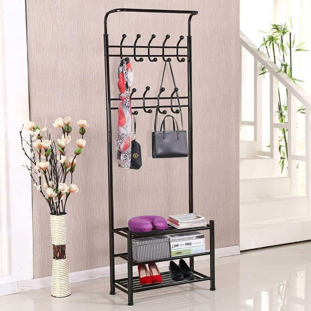 Shoe Rack and Coat stand in one