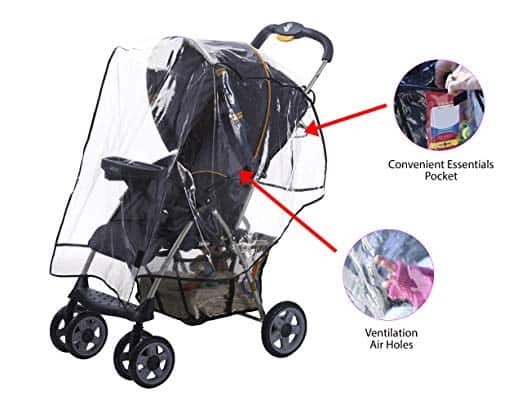 Stroller accessories - stroller rain covers