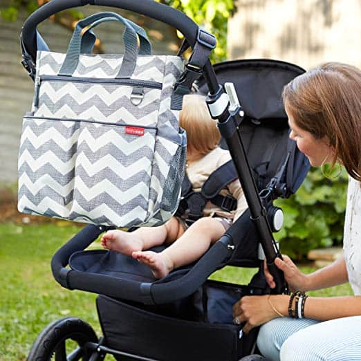 STroller accessories - diaper bag attaches to stroller