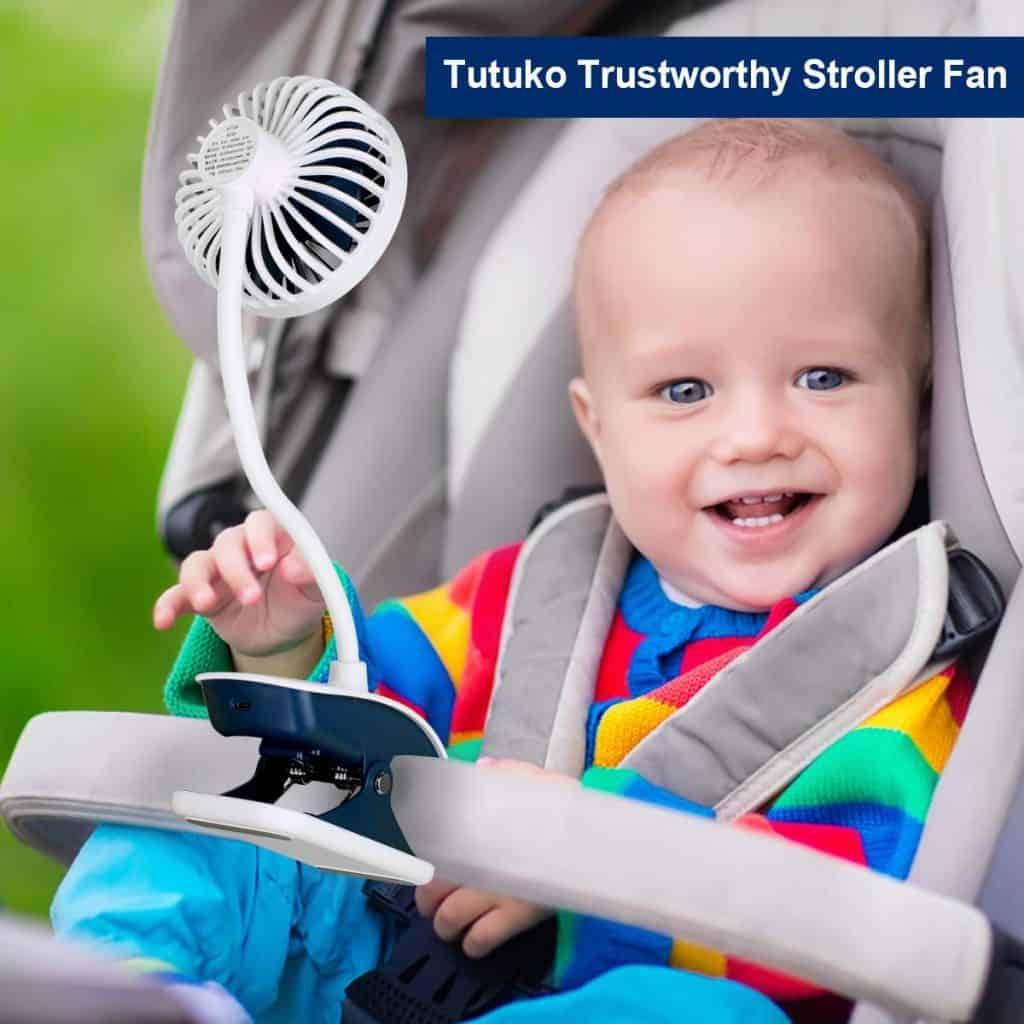 Stroller accessories - stroller fan