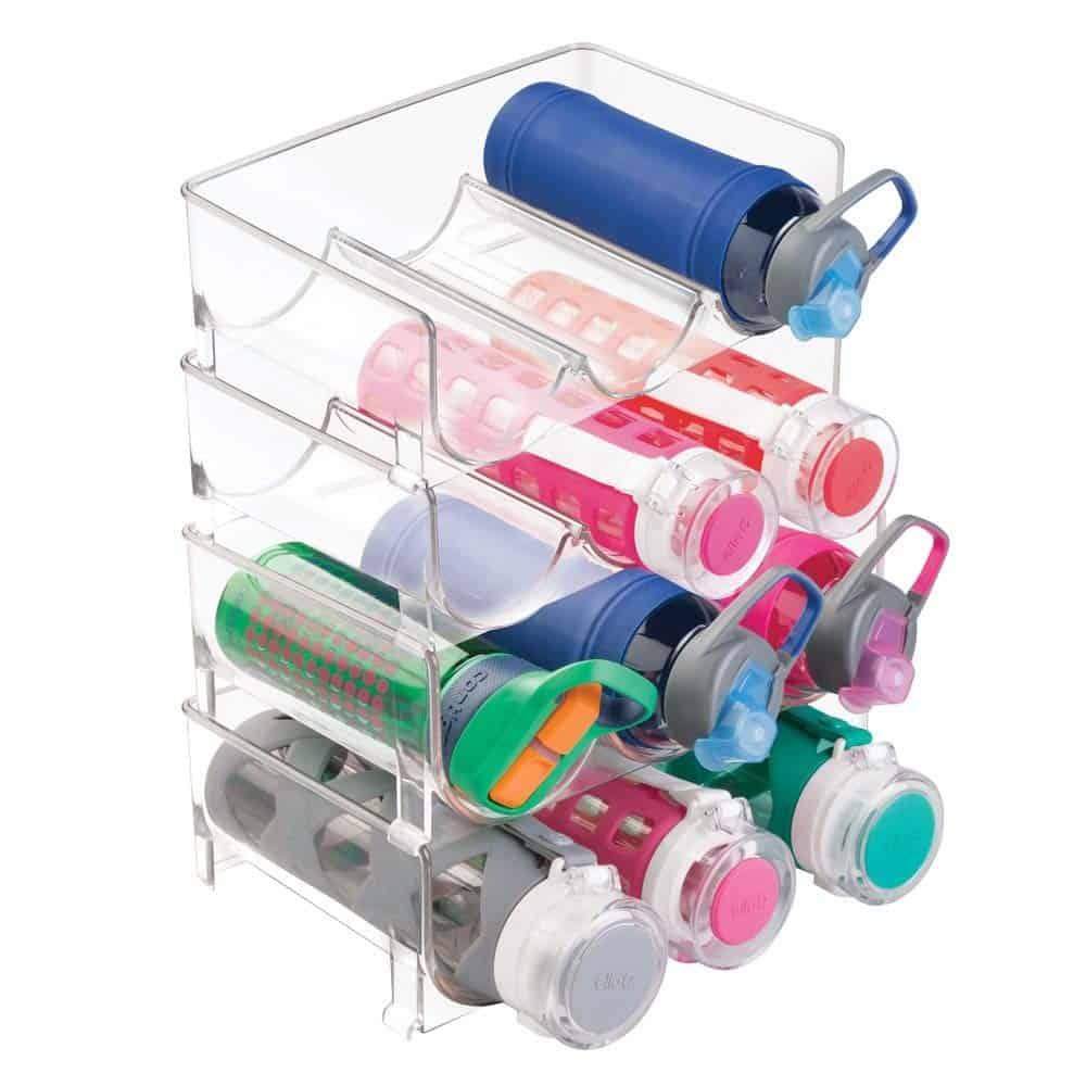Kitchen Cabinet Organization Ideas - a water bottle holder