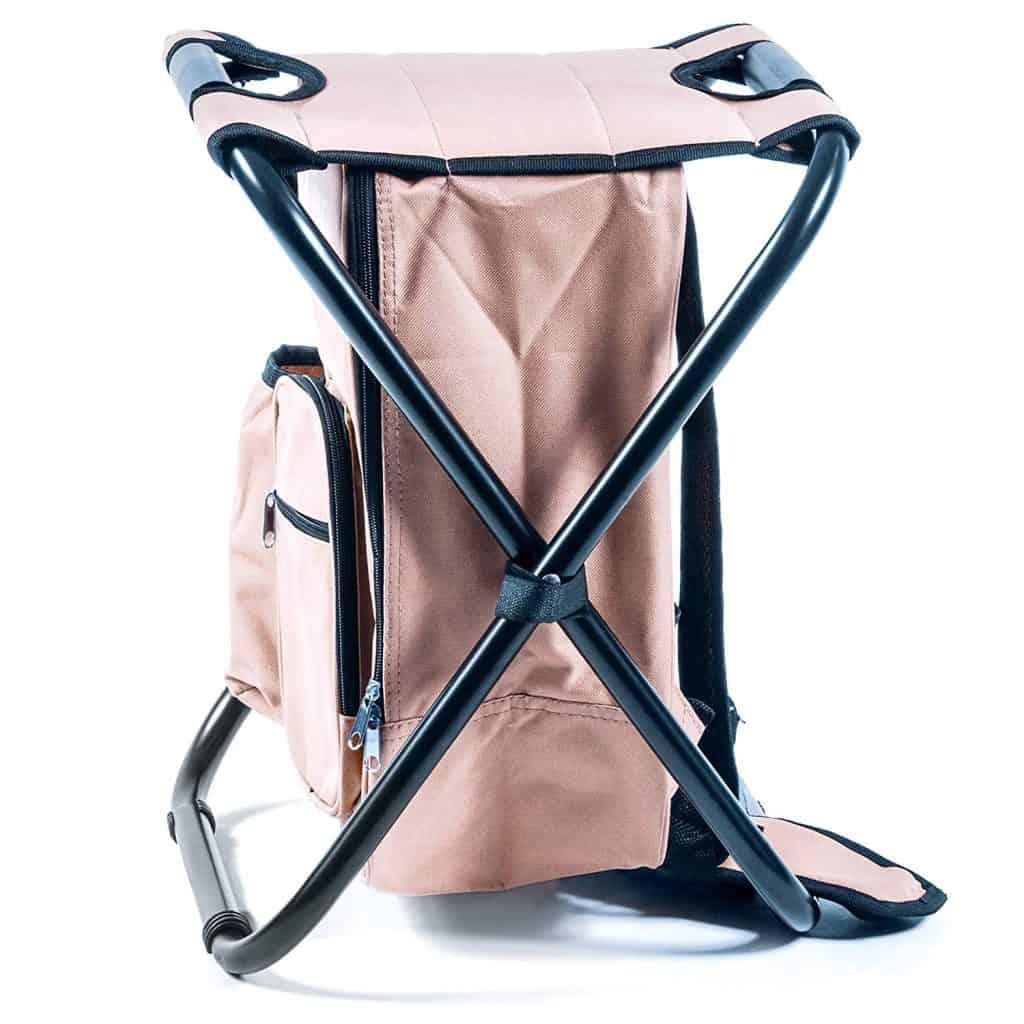 Camping chair folding camping stool