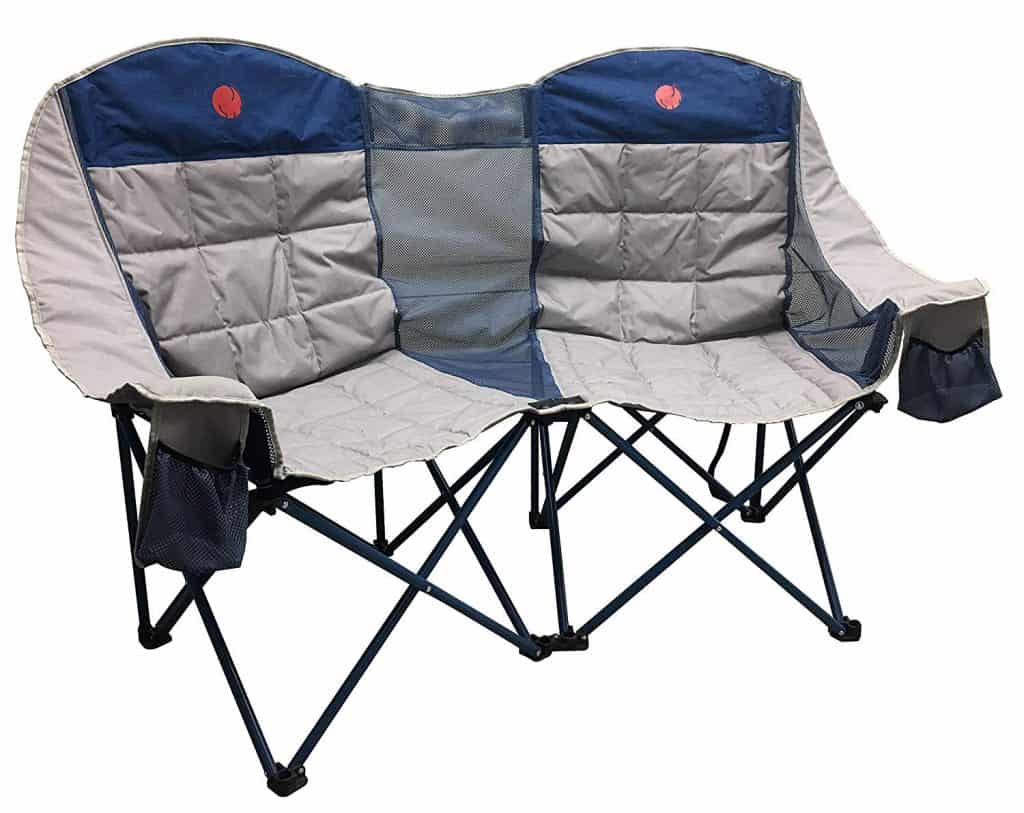 Camping chair loveseat