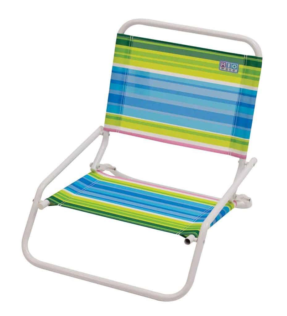 Rio Gear Beach chair - can make a good folding camping chair.