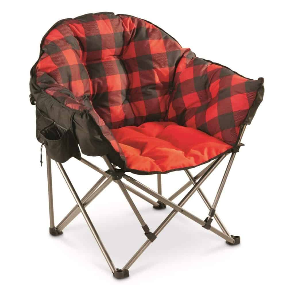 Camping Chairs saucer-style chair