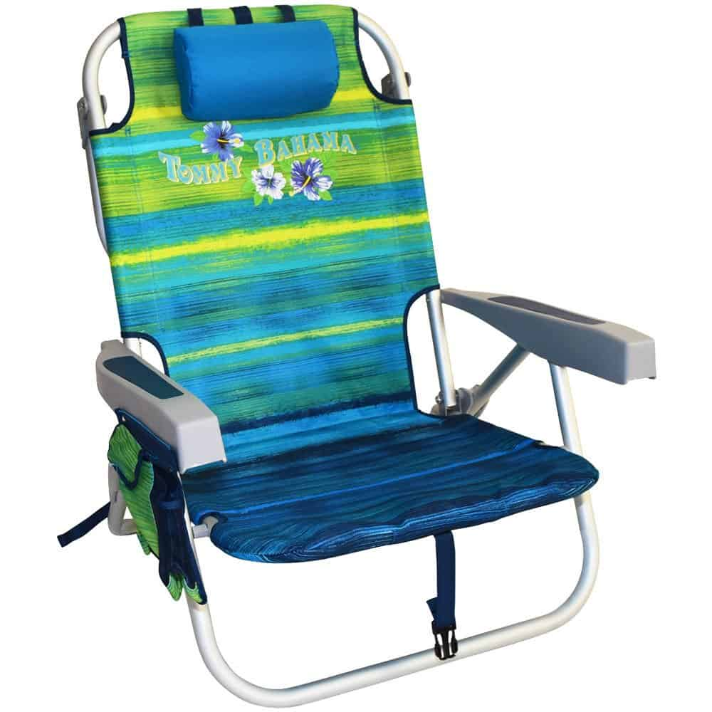 Tommy Bahama Folding Camping Chair - super cool chairs that have backpack straps