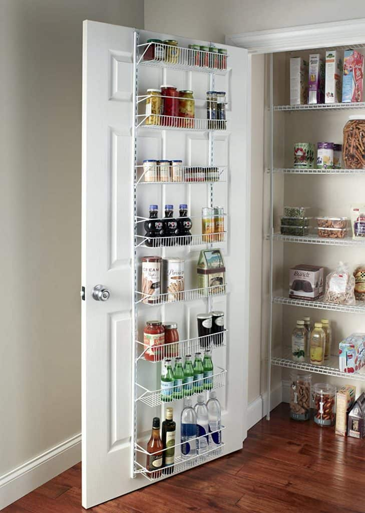 How to organize a pantry - Pantry shelving