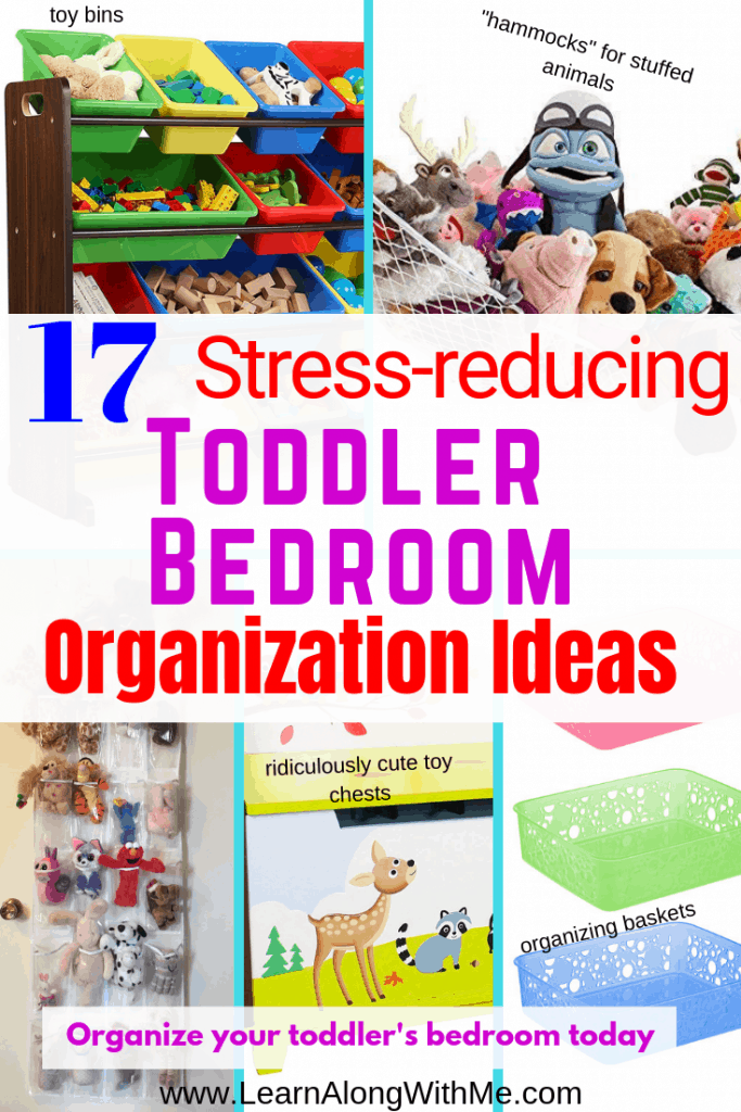 Toddler Bedroom Organization Ideas main graphic