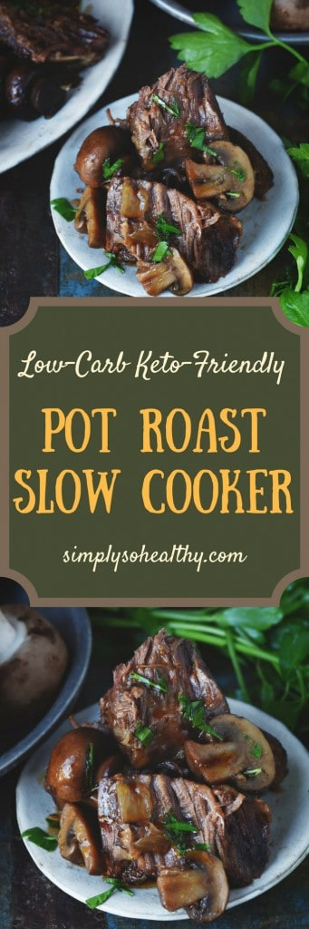 Paleo Dinners - pot roast slow cooker recipe for families