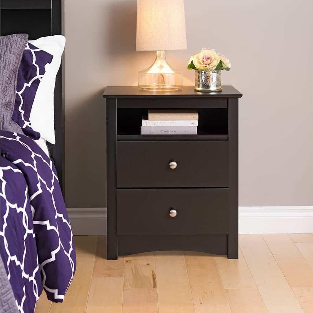 Bedroom organization ideas - night stand