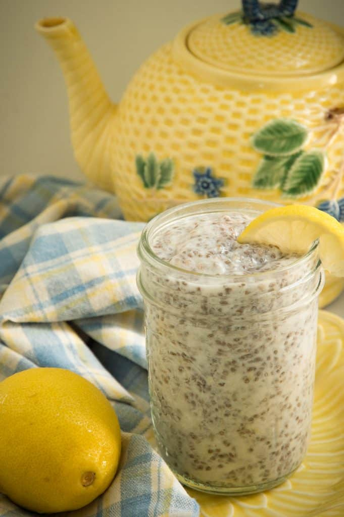Paleo desserts - Lemon chia seed pudding