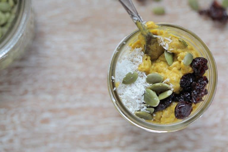 Paleo Desserts - pumpkin chia seed pudding