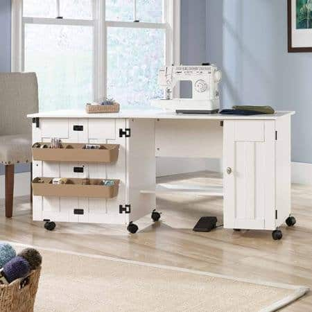 craft room storage idea - sewing cart