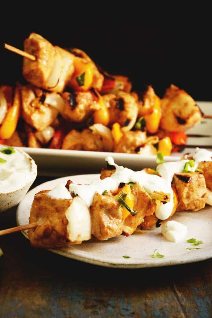 Paleo Diet - chicken kabobs
