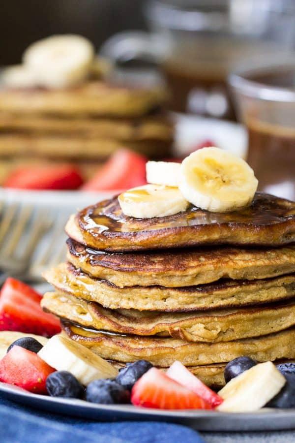 Paleo pancakes recipe #3 - banana and coconut flour