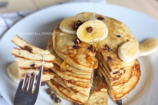 Paleo pancakes banana from against all grain website