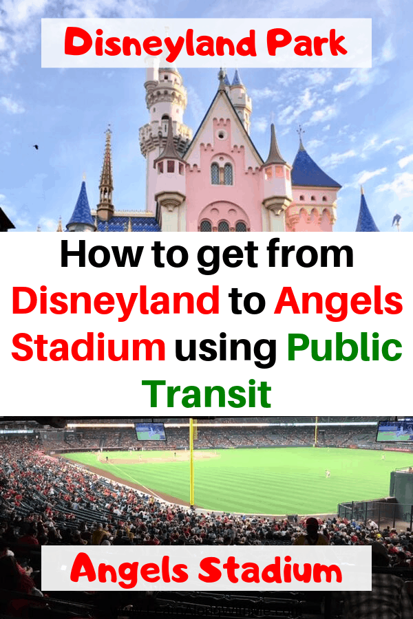 How to get from Disneyland to Angels Stadium using public transit