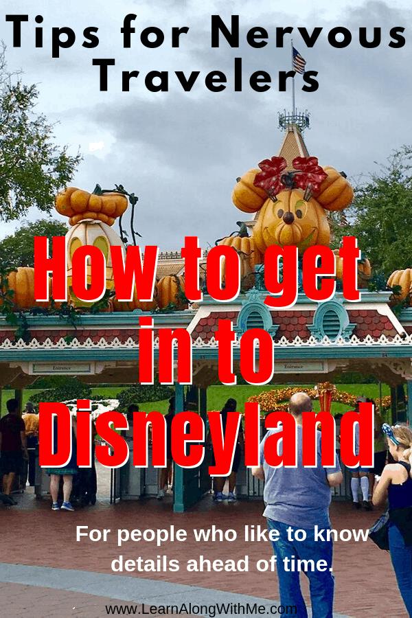 How to get into Disneyland