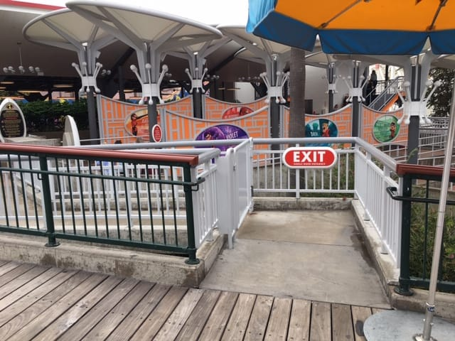 Disneyland Single Rider Entrances may be a little tricky to see. Here is the single rider line entrance for Incredicoaster.