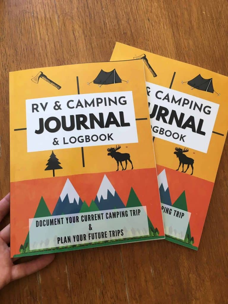 This is a cover of the RV Journal if you buy it from Amazon. It is professionally printed and bound, and mailed to you. It is a great camping journal to keep track of your camping trips and rv travel log book.