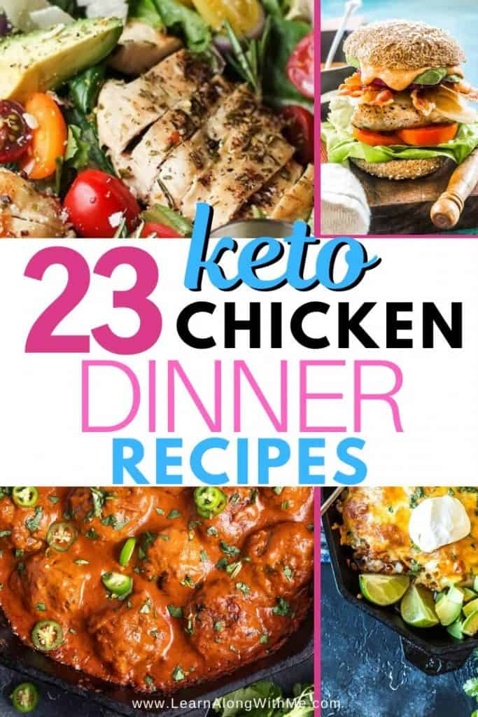 23 Keto Chicken Dinner Recipes [for you and your family]