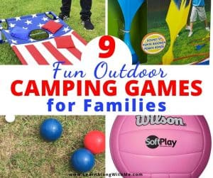 9 Fun Outdoor camping games for families