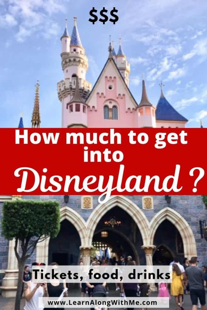 How much to get into Disneyland? (Trip planning)