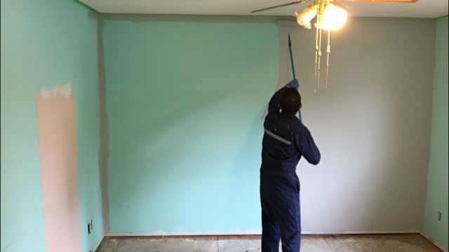 DIY bedroom makeover - painting your room has a huge impact on its overall look.