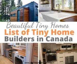 Tiny homes canada list of builders
