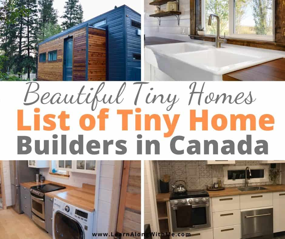 Beautiful Tiny Homes -  A list of tiny home builders in Canada.  Tiny Homes Canada.