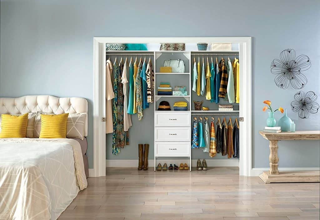 Closet Organization System by Closetmaid called the SuiteSymphony