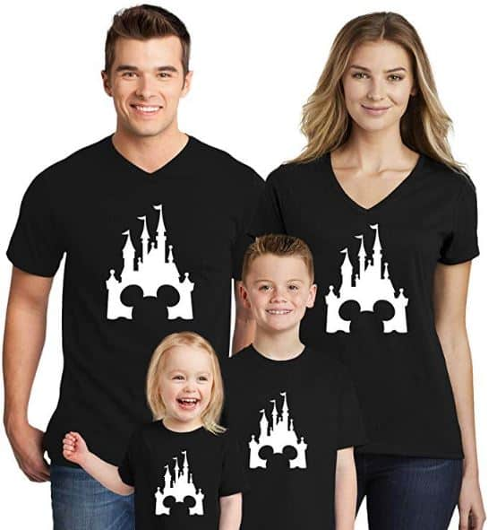 Disney shirts - simple design family shirts