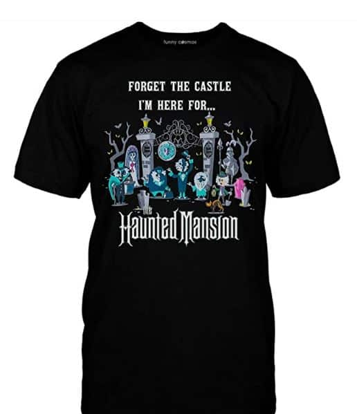 Disney Shirt Haunted Mansion A funny Disney shirt for men