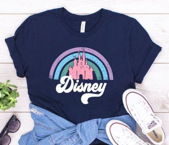 DIsney Retro Castle shirt