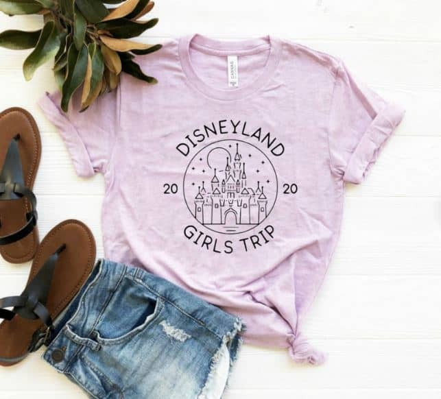 Disney Shirts - Disneyland Girls trip