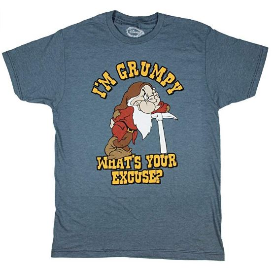 Disney Shirts for guys - I'm grumpy what's your excuse