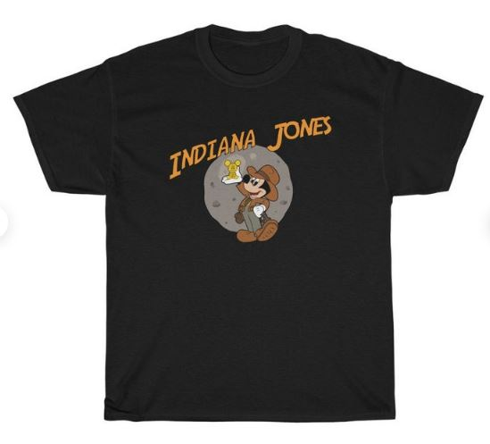 Disney Shirts mickey mouse dressed as indiana jones a clever Disney shirt