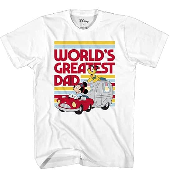 World's Greatest dad t shirt - could make a good father's day gift