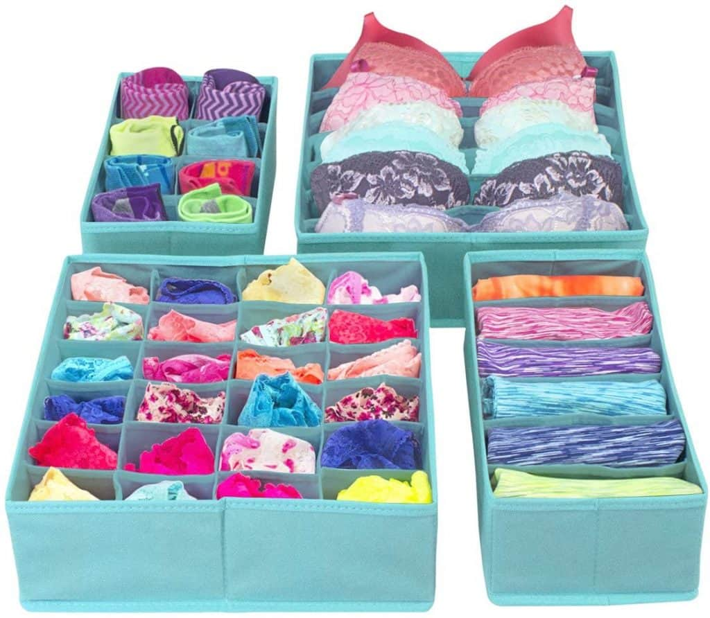 Closet organization ideas - drawer dividers