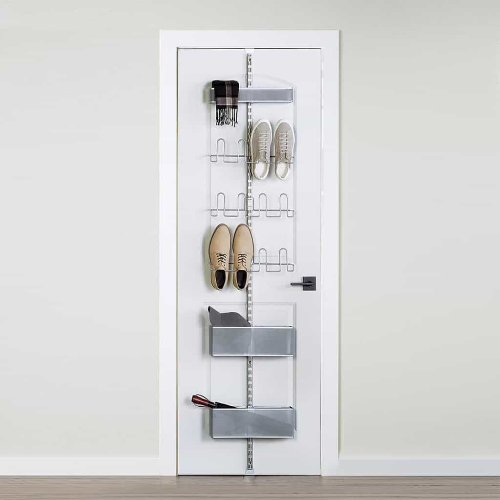 Over the Door Shoe rack system