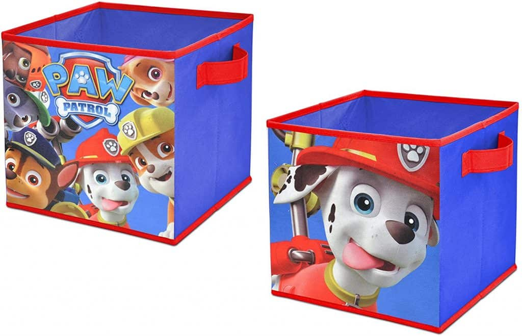 Paw Patrol closet cubes