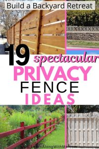 19 spectacular privacy fence ideas