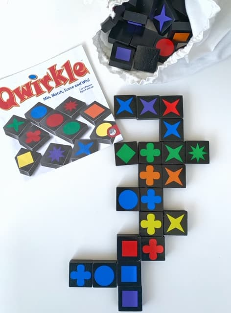 Games for Family Game Night  - Qwirkle