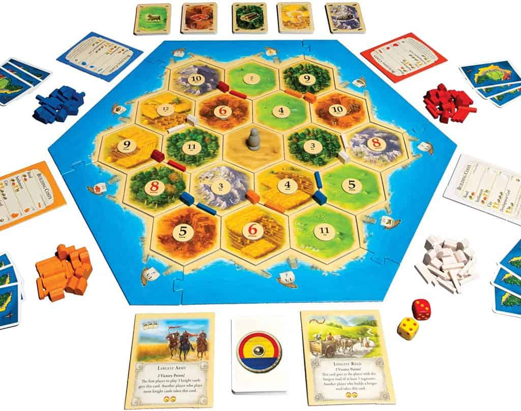 Camping Games - indoor games for the family - Catan