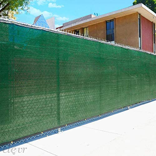 Add privacy screen to a chain link fence