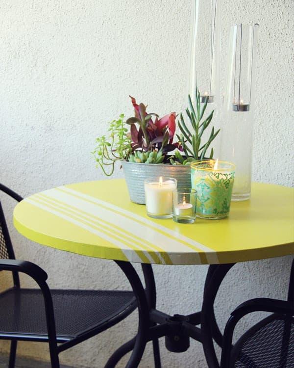 DIY patio table ideas