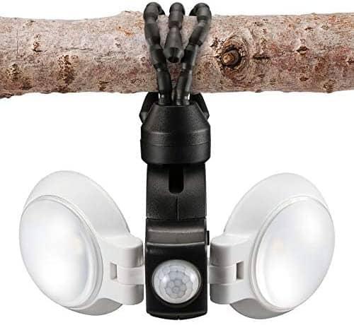 RV security  - motion sensor outdoor light