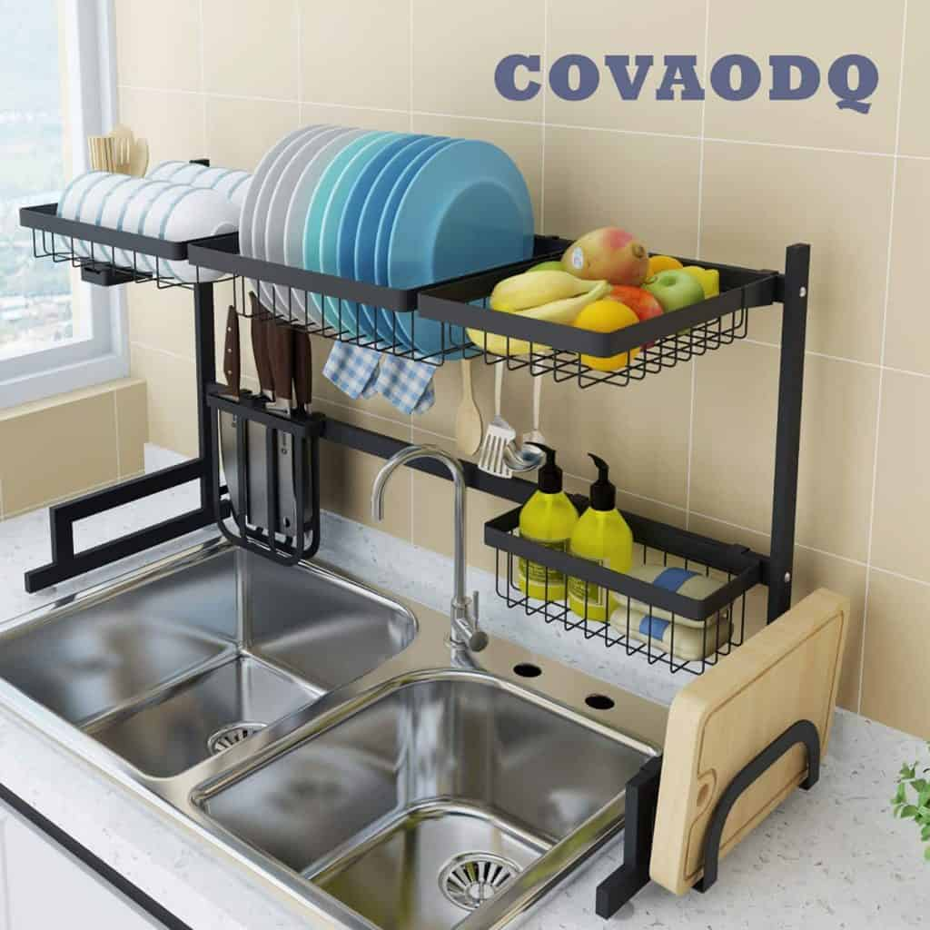 Small kicthen organization - over the sink organizer / drying rack
