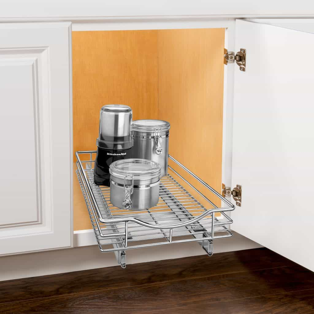 Pots and Pans storage slide out shel